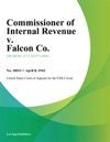 Commissioner Of Internal Revenue V Falcon Co