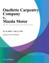 Ouellette Carpentry Company V Mazda Motor
