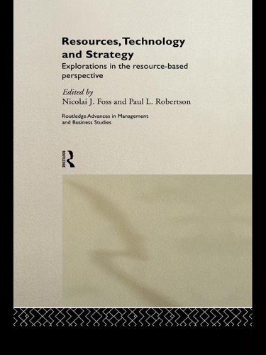 Resources Technology and Strategy