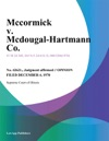Mccormick V Mcdougal-Hartmann Co
