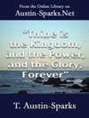 Thine Is The Kingdom And The Power And The Glory Forever