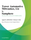 Tower Automotive Milwaukee