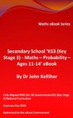 Secondary School 'KS3 (Key Stage 3) – Maths – Probability – Ages 11-14' eBook