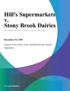 Hills Supermarkets V Stony Brook Dairies