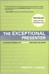 The Exceptional Presenter
