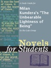 A Study Guide For Milan Kunderas The Unbearable Lightness Of Being