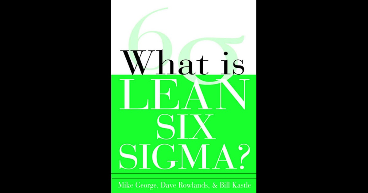 what is lean six sigma book pdf