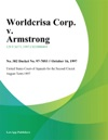 Worldcrisa Corp V Armstrong