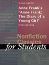 A Study Guide For Anne Franks Anne Frank The Diary Of A Young Girl
