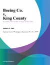 Boeing Co V King County