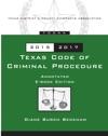 Texas Code Of Criminal Procedure 2015-2017