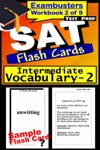 SAT Test Prep Intermediate Vocabulary 2 Review--Exambusters Flash Cards--Workbook 2 Of 9