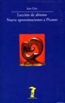 Leccin De Abismo Nueve Aproximaciones A Picasso