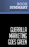 Summary Guerrilla Marketing Goes Green - Jay Conrad And Shel Horowitz