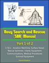 Navy Search And Rescue SAR Manual - 3-501 - Part 1 Of 2 - Aviation Maritime Surface Vessel Rescue Swimmer Inland Equipment Communications Medical Procedures Survival Equipment