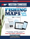 Western Tennessee Fishing Maps Guide Book