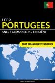 Pinhok Languages - Leer Portugees: Snel / Gemakkelijk / Efficiënt: 2000 Belangrijkste Woorden artwork