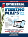 Southern Indiana Fishing Maps Guide Book