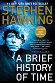 A Brief History of Time - Stephen Hawking Cover Art