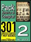 Pack Ahorra Al Comprar 2 N 023 301 Chistes Cortos Y Muy Buenos  Aprende A Dibujar En Una Hora
