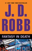 J. D. Robb - Fantasy in Death  artwork