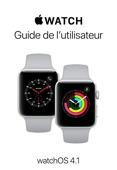 Guide de l'utilisateur de l'Apple Watch