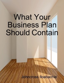 WHAT YOUR BUSINESS PLAN SHOULD CONTAIN
