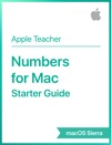 Numbers For Mac Starter Guide MacOS Sierra