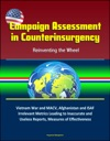 Campaign Assessment In Counterinsurgency Reinventing The Wheel - Vietnam War And MACV Afghanistan And ISAF Irrelevant Metrics Leading To Inaccurate And Useless Reports Measures Of Effectiveness