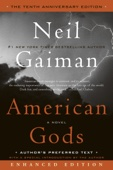 American Gods: The Tenth Anniversary Edition (Enhanced Edition) - Neil Gaiman Cover Art