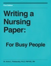 Writing A Nursing Paper