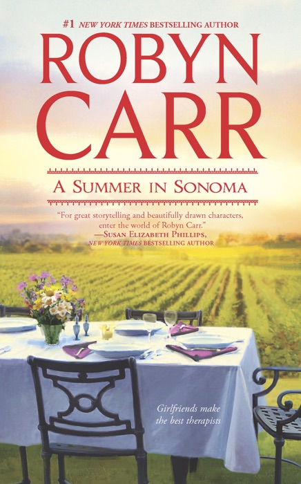 A Summer in Sonoma Robyn Carr Book