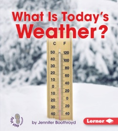 WHAT IS TODAYS WEATHER?