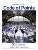 USA Gymnastics Xcel Code of Points
