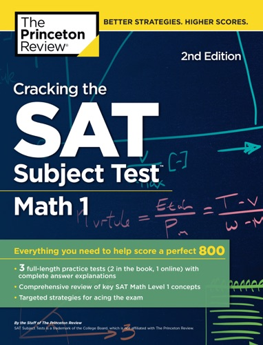Cracking the SAT Subject Test in Math 1 2nd Edition