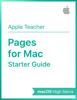 Apple Education - Pages for Mac Starter Guide macOS High Sierra artwork
