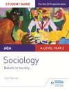 AQA A-Level Sociology Student Guide 4 Beliefs In Society
