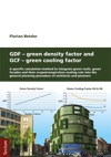 GDF - Green Density Factor And GCF - Green Cooling Factor
