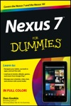 Nexus 7 For Dummies Google Tablet