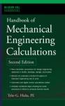 Handbook Of Mechanical Engineering Calculations Second Edition