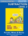 Learning Essentials Subtraction Level 2 Math And Reading Workbook Series
