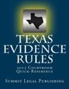 Texas Evidence Rules 2013