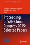 Proceedings Of SAE-China Congress 2015 Selected Papers