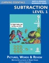 Learning Essentials Subtraction Level 1 Math And Reading Workbook Series