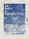 De Paris  Tombouctou