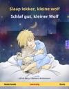 Slaap Lekker Kleine Wolf - Schlaf Gut Kleiner Wolf Tweetalig Kinderboek Nederlands - Duits