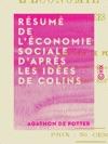 Rsum De Lconomie Sociale Daprs Les Ides De Colins