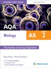 AQA AS Biology Student Unit Guide Unit 2 New Edition The Variety If Living Organisms