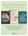 Kate DiCamillo Exclusive Candlewick Press Sampler