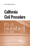 California Civil Procedure In A Nutshell 5th